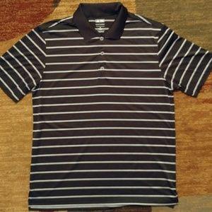 Black Adidas Golf Polo